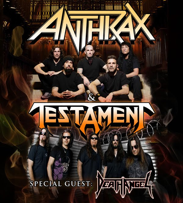 Horns Up Rocks Anthrax Are Ready To Kickoff Leg Ii Of