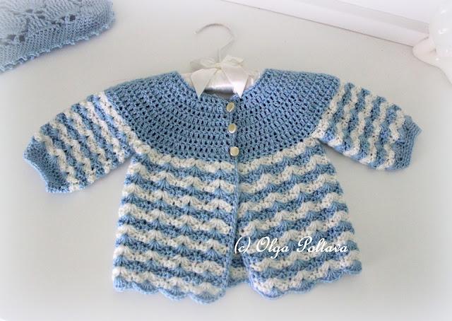 Simple Crochet Baby Sweater Pattern English Sweater Vest