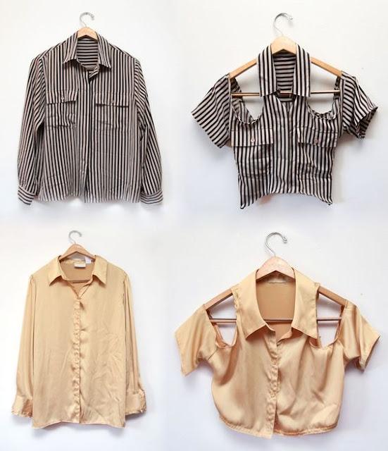A customização é algo que dá para fazer sozinha e você pode renovar o seu guarda roupa inteiro apenas utilizando as mesma s roupas velhas. Tudo depende da criatividade e de boa ideias, para isso separamos 10 ideias para você customizar as sua camisas, vestidos, shorts...