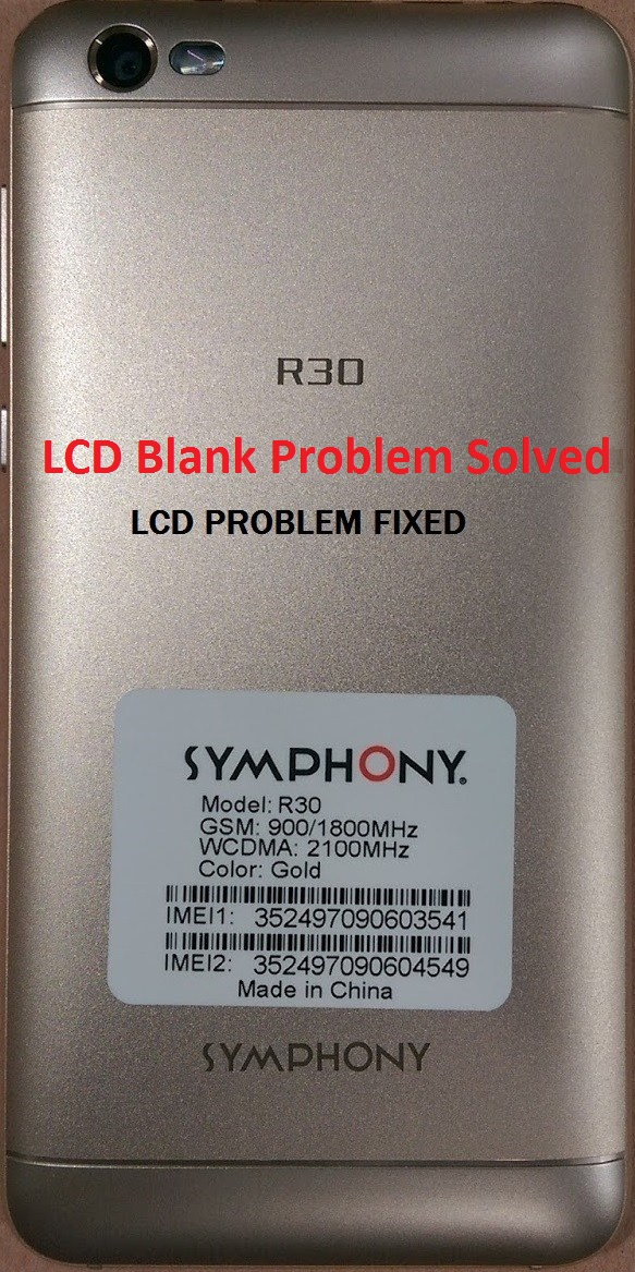 Symphony R30 Flash File download | R30 HW2 V14 MT6580 Stock