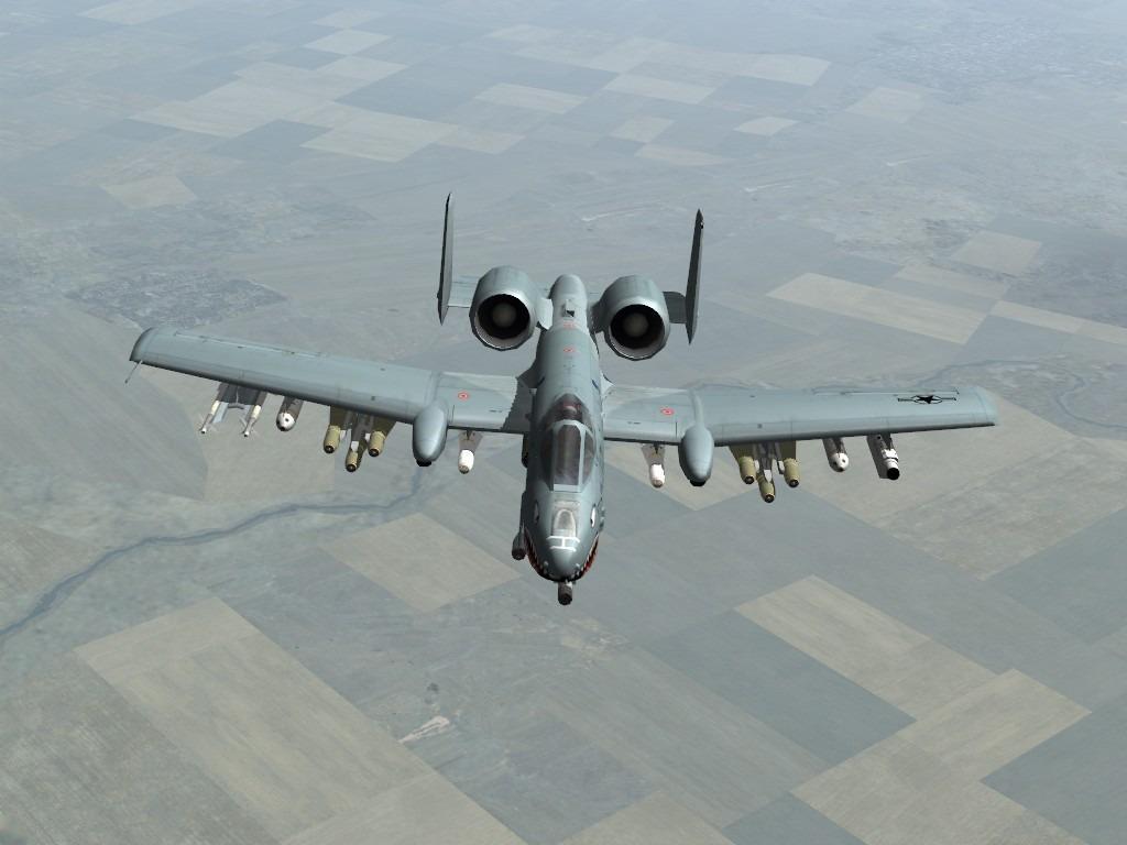 A 10 Warthog Plane: A-10 Thu...