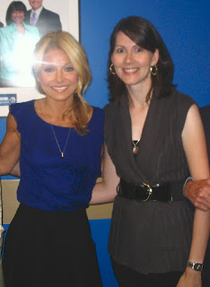 Kelly Ripa and Kate Winn