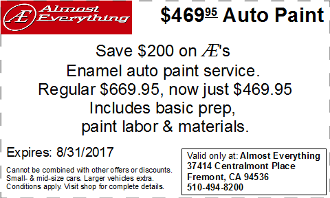 Auto Body-Collision Repair-Car Paint in Fremont-Hayward ...