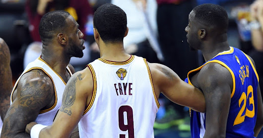 What Did Draymond Green Say To LeBron James?