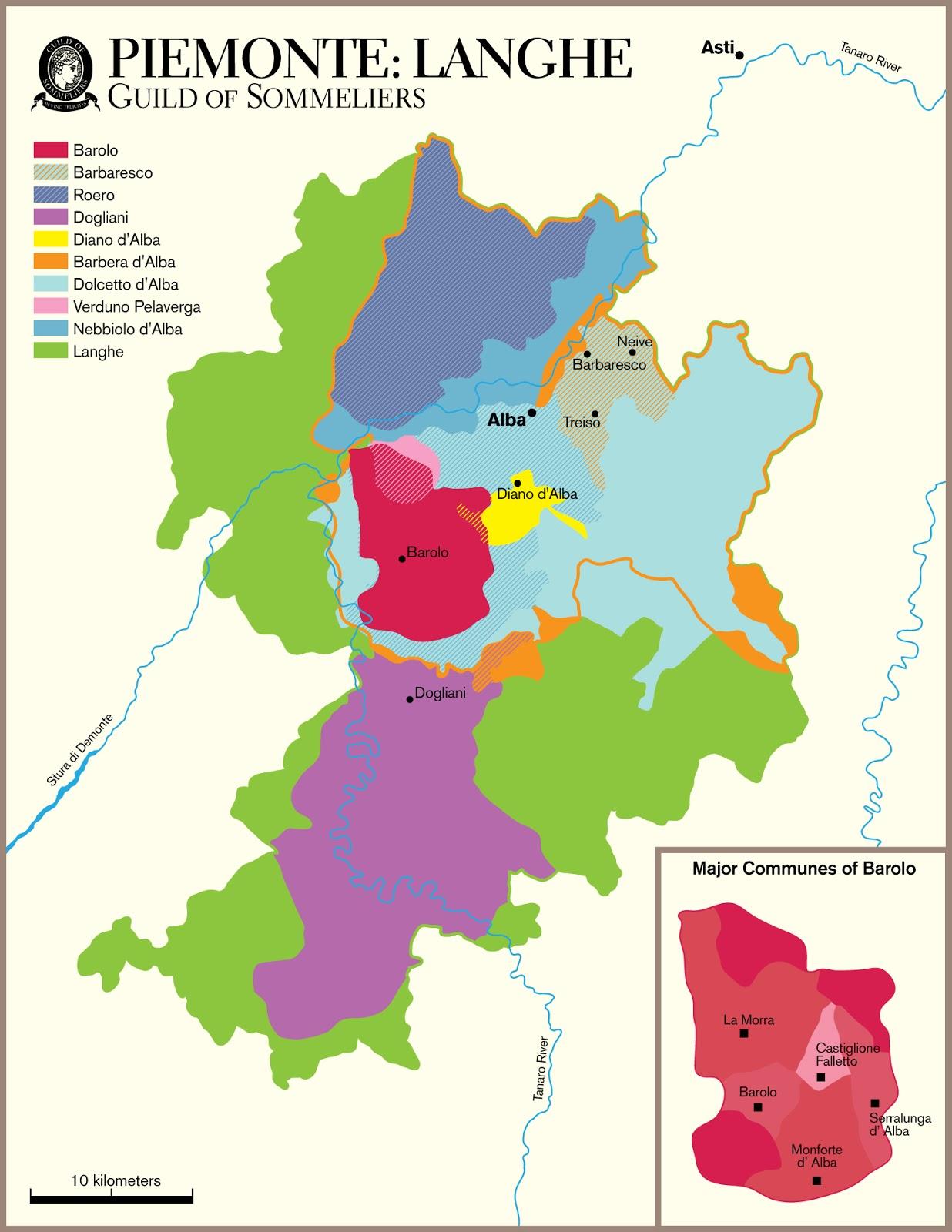 Barolo Wine Region Italy Map.Wine Mise En Abyme The Langhe Piemonte Italy Wine Region