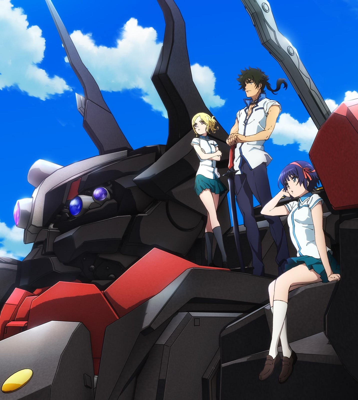 the robros kuromukuro new mecha anime