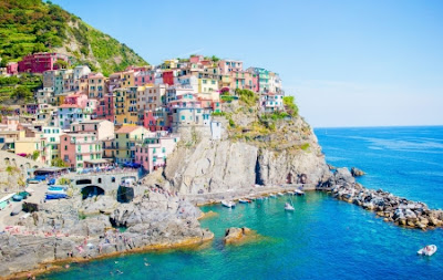 Cinque Terre, Italie à 430 € : circuit 8j/7n en hôtels + entrées des sentiers + trains
