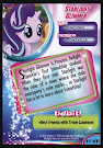 My Little Pony Starlight Glimmer MLP the Movie Trading Card