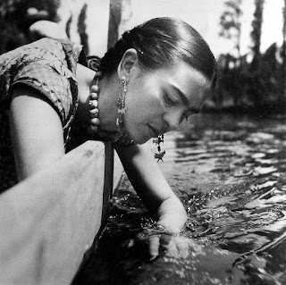 Photo of Frida Kahlo by Isamu Noguchi