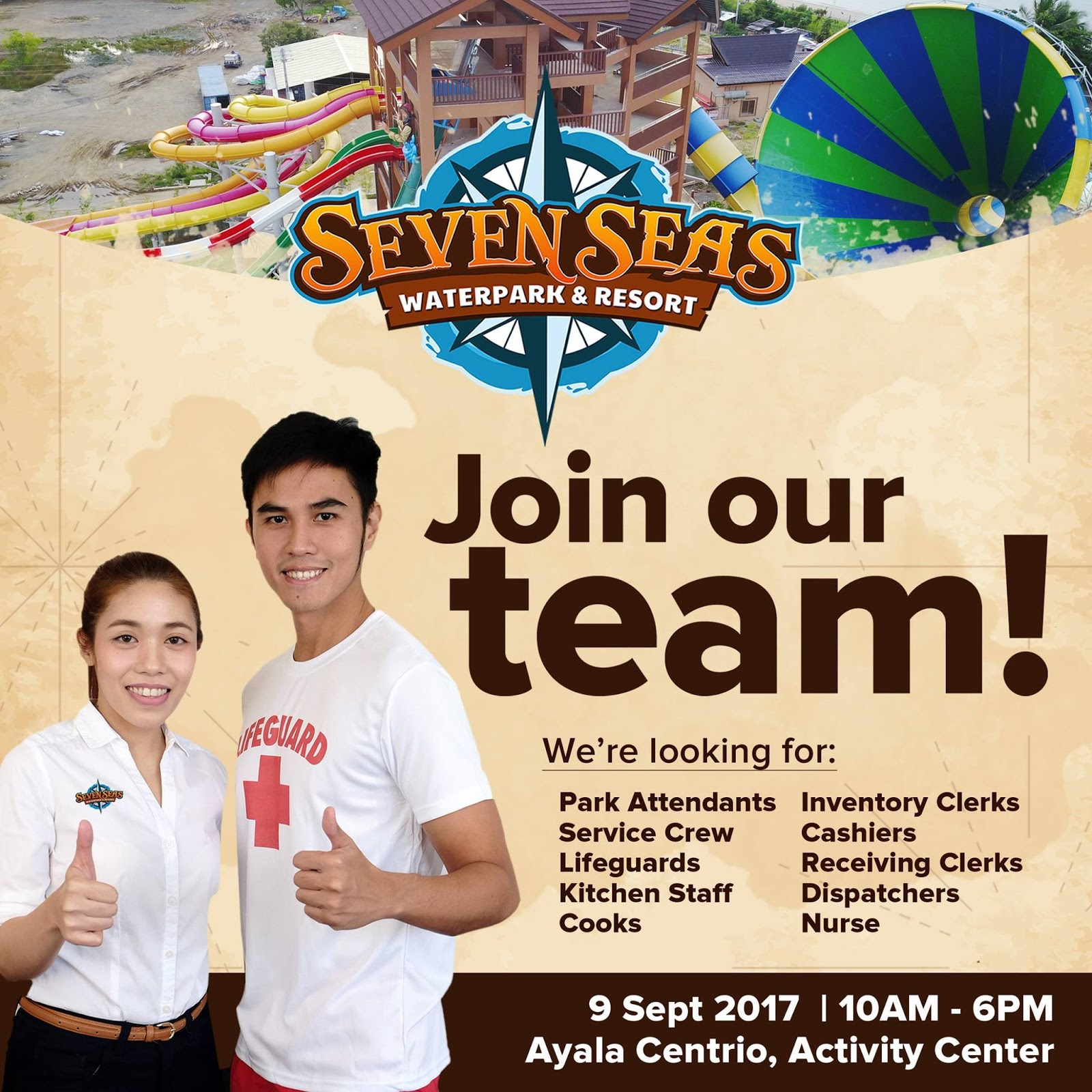 job hiring  seven seas water park  u0026 resort