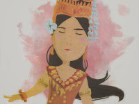 Princess Amarevi (Folklore From Cambodia)