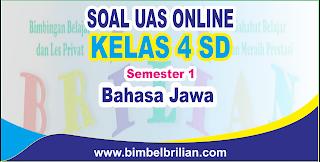 mempublikasikan latihan soall ulangan tengah semester berbentuk online Soal UAS Bahasa Jawa Online Kelas 4 SD Semester 1 ( Ganjil ) - Langsung Ada Nilainya