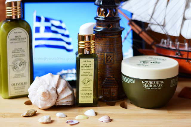 Olivolio odżywka do włosów suchych, olejek, maseczka do włosów cienkich