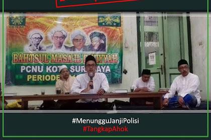 Bahtsul Masa'il PCNU Surabaya, Tegaskan HARAM Pemimpin Non Muslim!