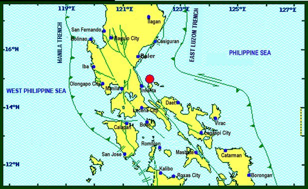 Magnitude 4.5 earthquake hits Metro Manila, Luzon areas