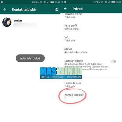 Cara memblokir nomor whatsapp terbaru mudah