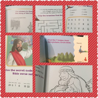Adventure Bible, Wild About the Bible sample collage