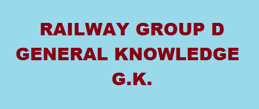 general knowledge g k for railway group d exam
