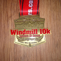 Fitbitches : My Running Medals in 2017 - Fylde Coast Runners Windmill 10k