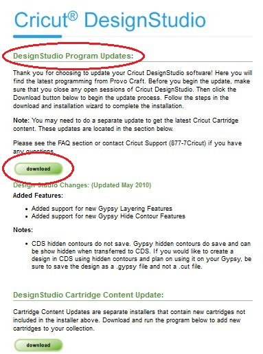 The Cricut Lovers Guide To Design Studio Downloading And Installing Ds Updates