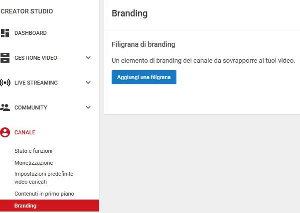 Inserire Logo Tasto Iscriviti In Tutti I Video Youtube Oggi è Un
