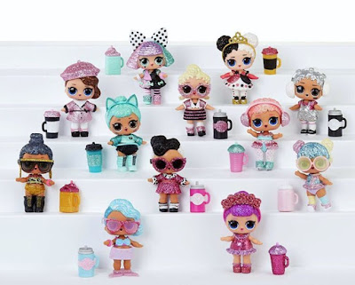 Вся коллекция кукол Лол Сюрприз серия Блинг