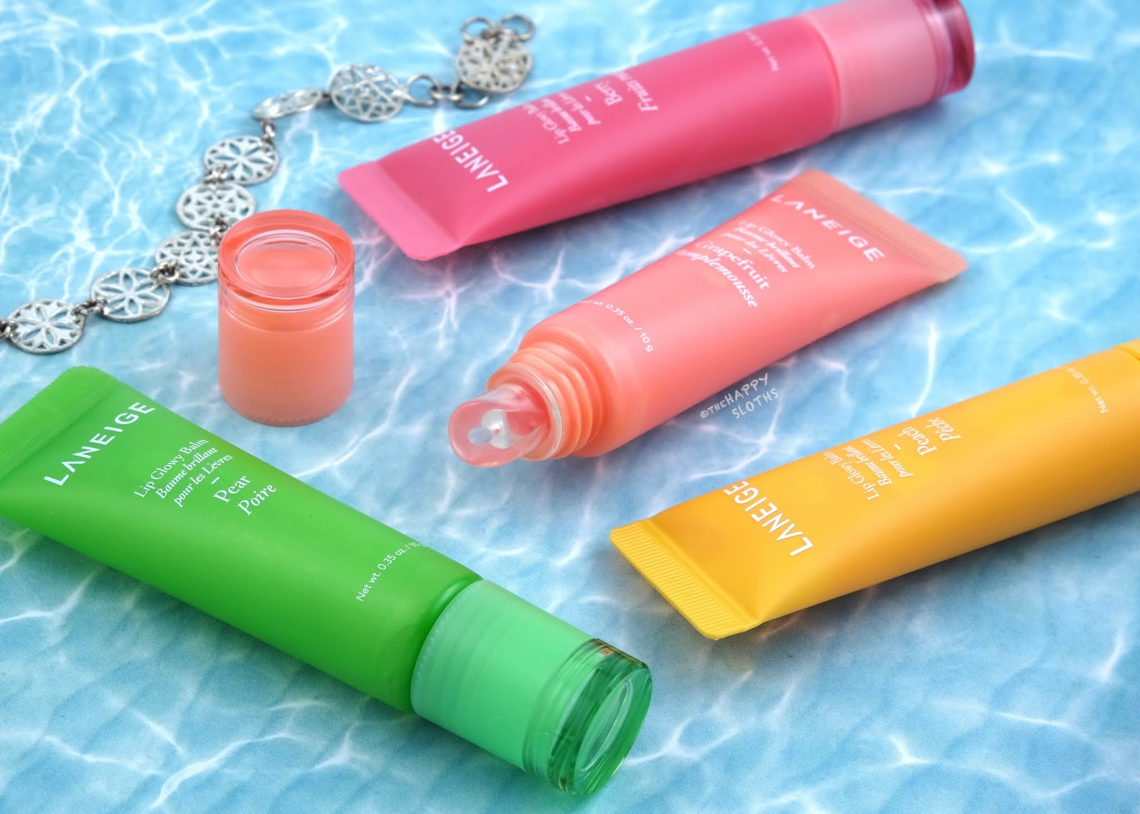 LANEIGE | Lip Glowy Balm: Review and Swatches