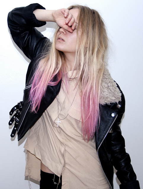 It began with a theory...: Fun color hair extensions ...