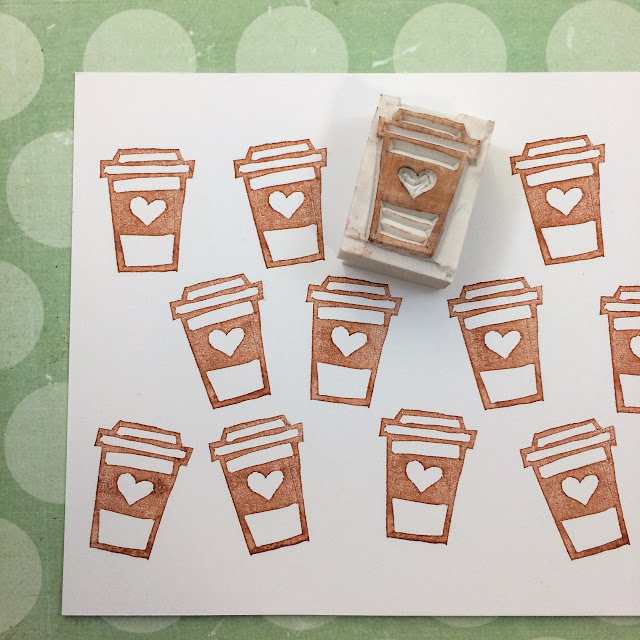 Handmade Rubber Stamps, Planner Stamps
