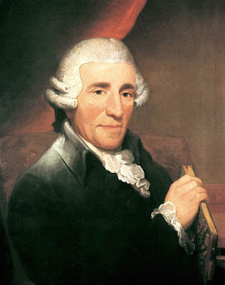 Portrait of Joseph Haydn by Thomas Hardy (1791)