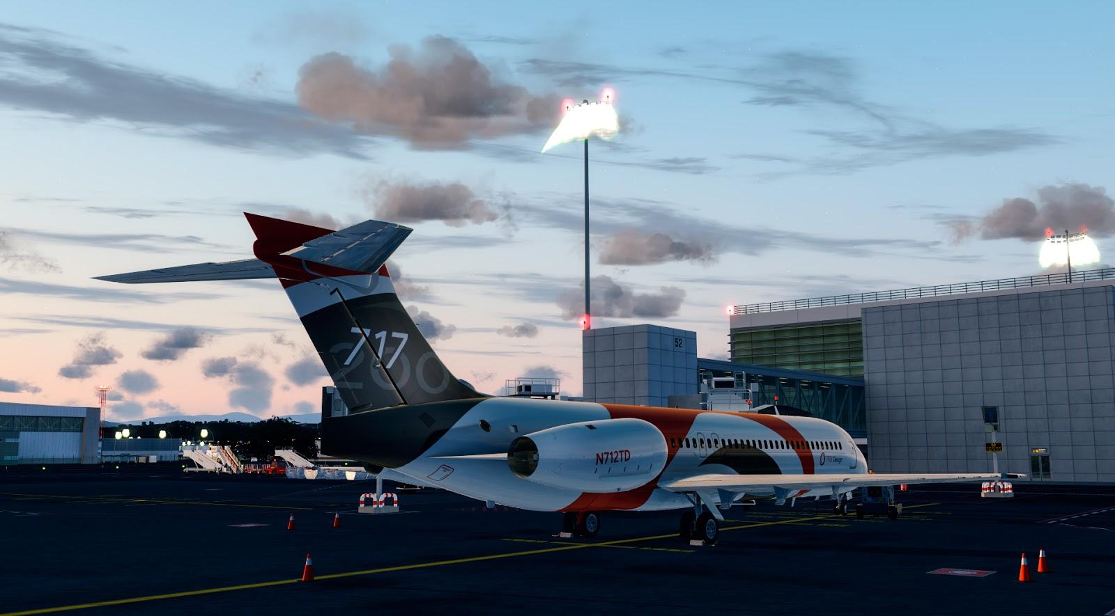TFDi Design 717 for FSX/P3D - Review