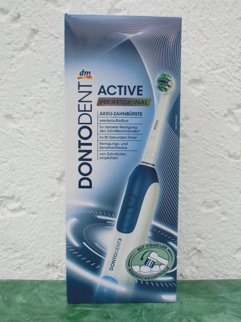 Test Blog Dontodent Active Professional Meine Erste Elektrische Zahnburste
