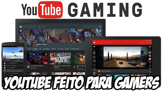 Google anuncia uma novidade no Youtube para Games