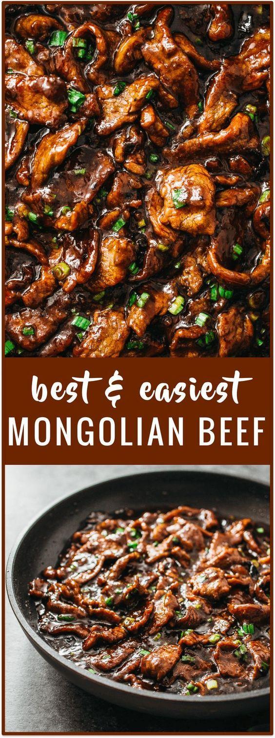 Amazing Mongolian Beef Recipe