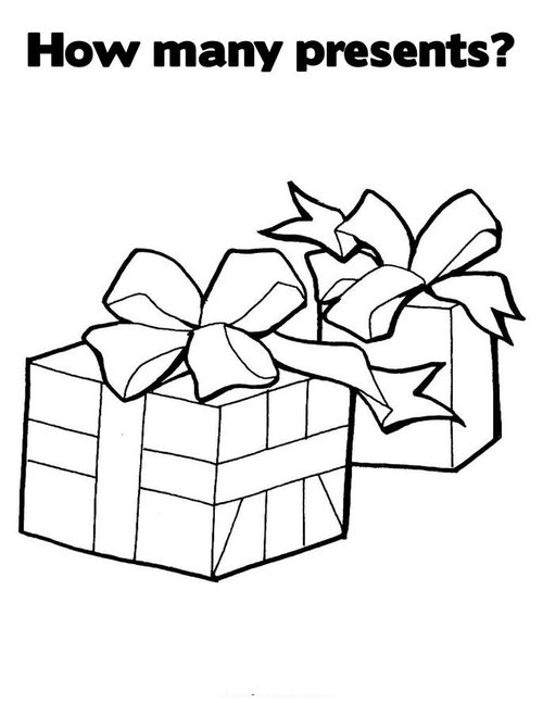 Abu Aladdin Kleurplaat Free Christmas Presents Coloring Pages For Children