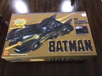 Toy Biz Rocket Launcher Batmobile Vehicle w/ Cocoon
