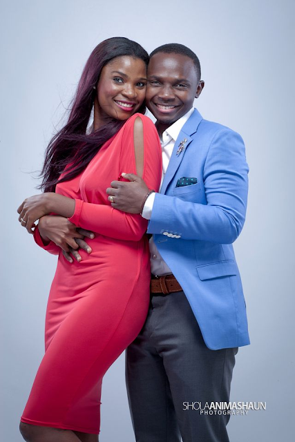 Teju Babyface and wife