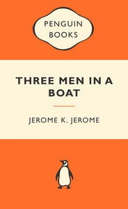 Three Men in a Boat by Jerome K. Jerome book cover