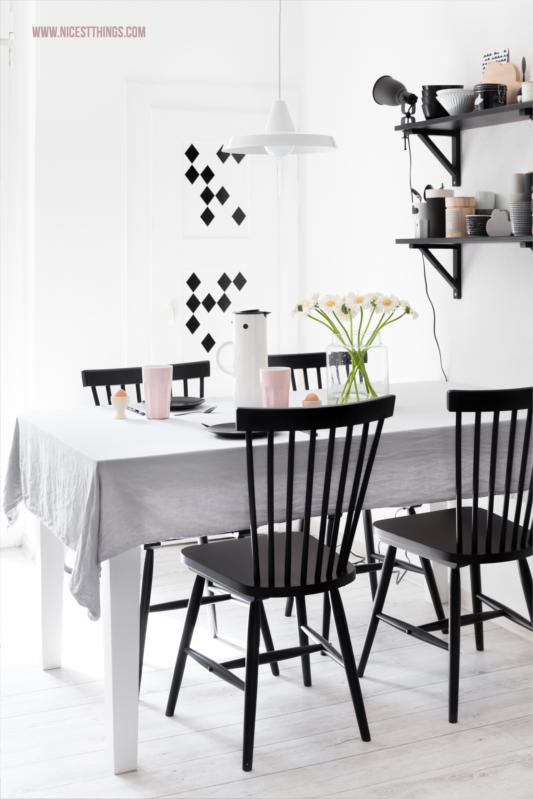 Tipps für ein schönes Zuhause Küche #küche #blogger #interior #skandi #esstisch