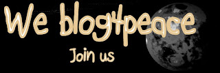 Peace blogger badge for website