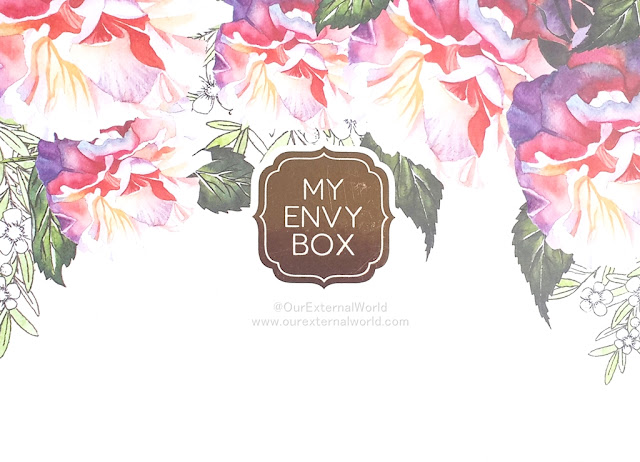 My Envy Box March 2017 - Relax, Renew, Refresh!