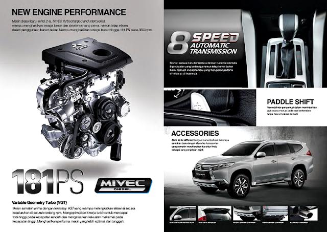 Kelebihan dan FItur Performa Mesin Mitsubishi All New Pajero Sport 2016