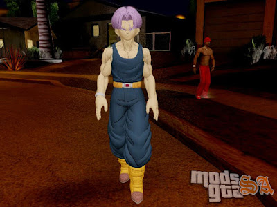 Skin Trunks do Futuro - Dragon Ball Xenoverse para GTA San Andreas