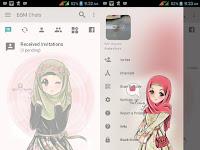 Free Download [BBM MOD] Jilbab Cute v3.2.0.6 [Hijab] Trangga Ken