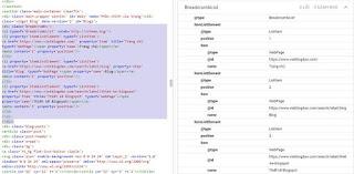 Thêm dữ liệu có cấu trúc BreadcrumbList trong bài viết với Label tùy chỉnh