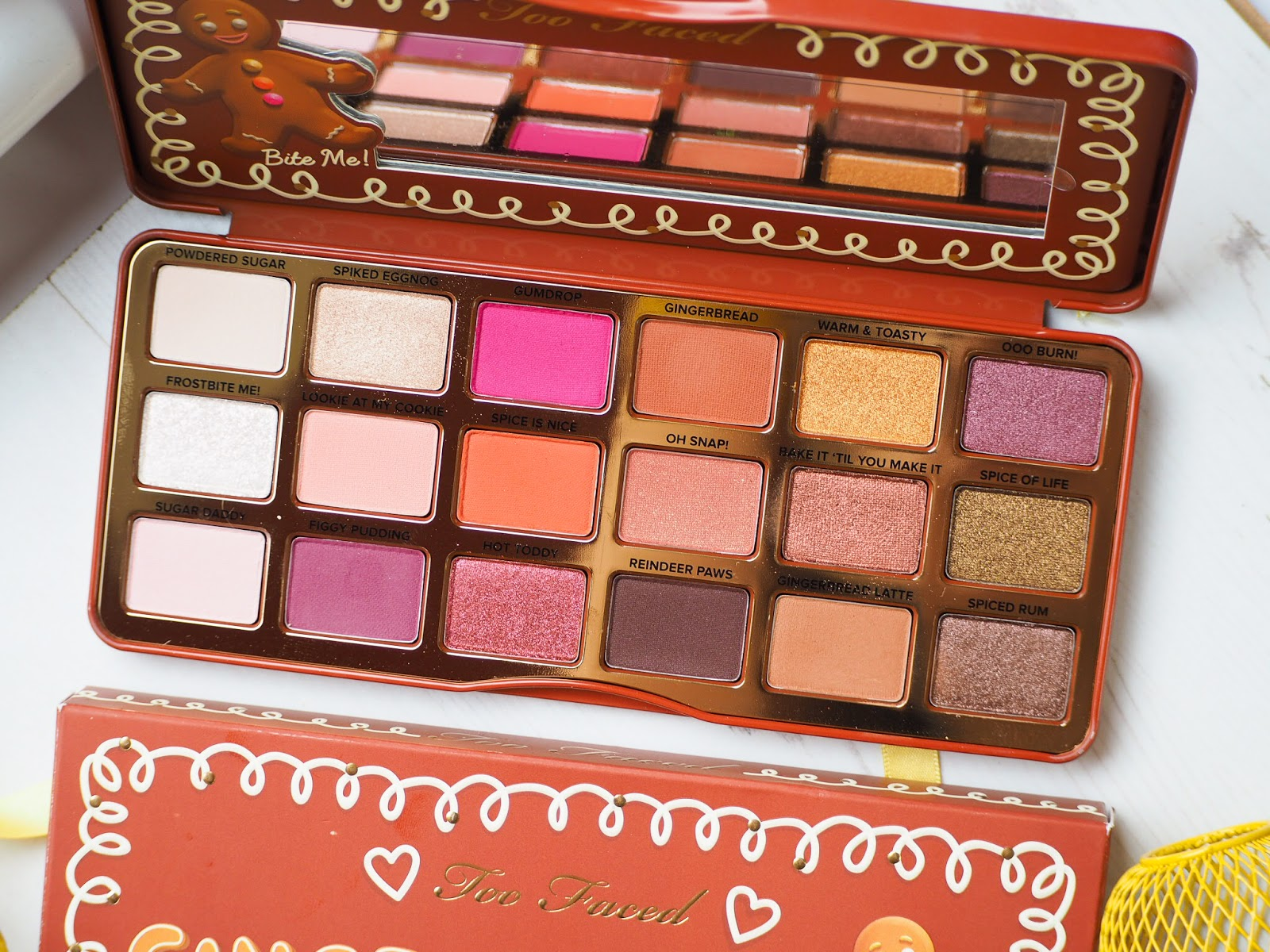 Too Faced Gingerbread Spice Palette Review + Swatches