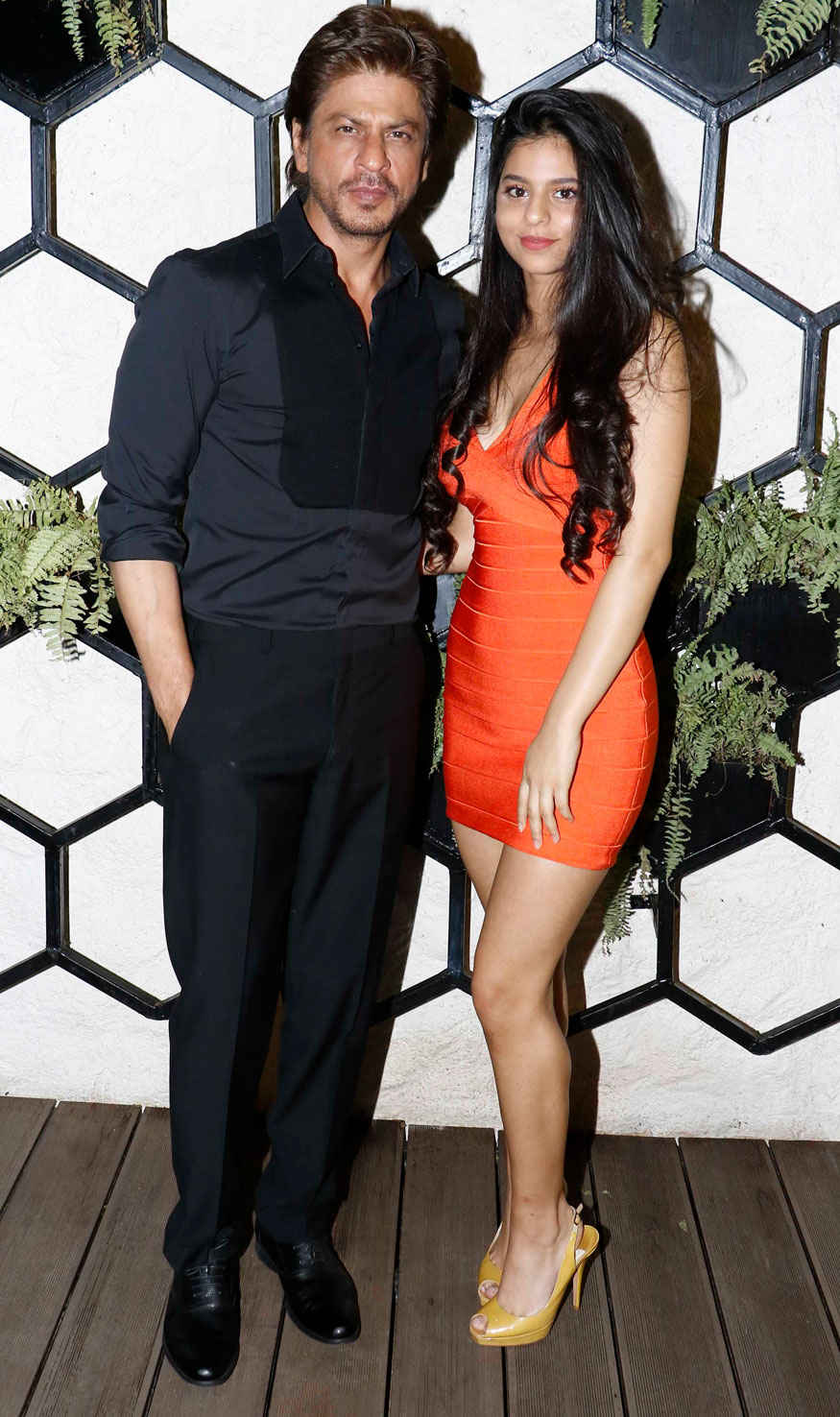 Gauri Khan Poses for Opening of Restaurant Arth Designed By Her