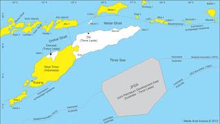 Batas wilayah Negara Indonesia bagian selatan