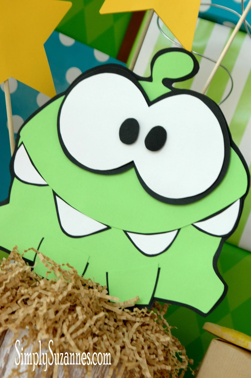 Simply Suzanne S At Home Cut The Rope Om Nom
