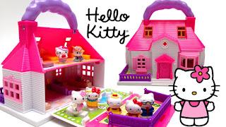 Gambar Rumah Hello Kitty Mainan 10